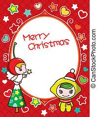 Christmas Frame Background 3