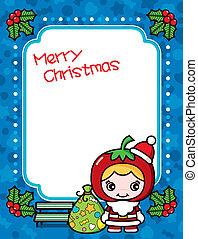 Christmas Frame Background 4