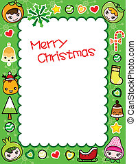 Christmas Frame Background 5