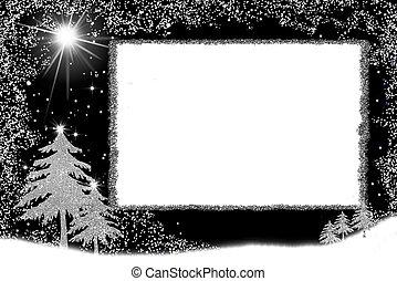 Christmas frame cards.