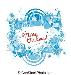 Christmas frame for your design
