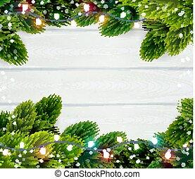 Christmas Frame Template