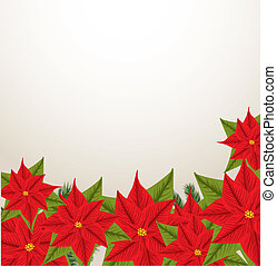 Christmas frame with space for your text
