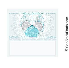 Christmas Framework style card.