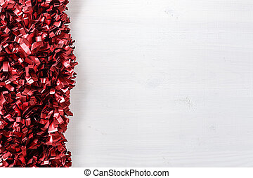 Christmas garland background