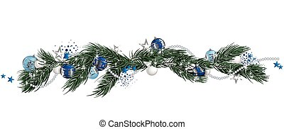 Christmas Garland Clipart.Christmas Garland Clipart Vector And Illustration 30 343
