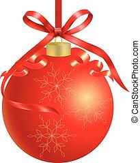 Christmas garland red card - Christmas garland tree red card...