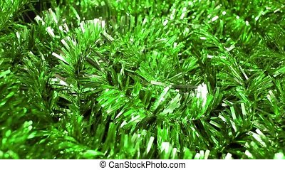 Christmas garland xmas ornament spiral rotating hypnotic...