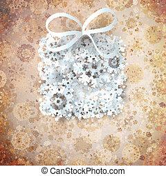 Christmas Gift Background.