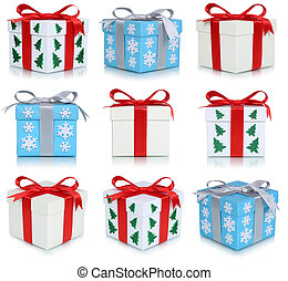 Christmas gift boxes set of gifts