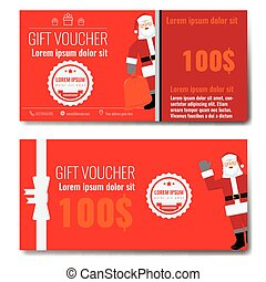 christmas gift voucher with prepaid sum template christmas gift