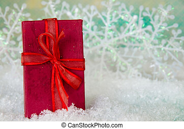 Christmas gift in box