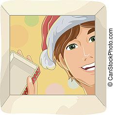Christmas Gift Open