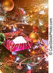 christmas gift red box