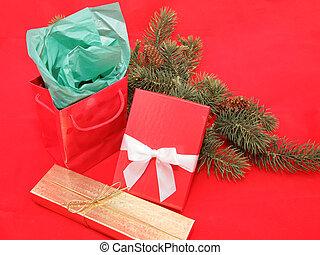 Christmas Gift Still Life