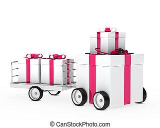 christmas gift vehicle