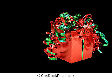 Christmas Gift with Clipping Path