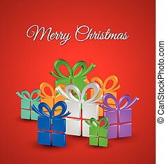 Christmas gifts card