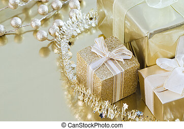 Christmas Gifts Gold Collection