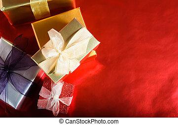 Christmas Gifts Overhead