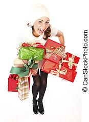 Christmas Gifts Shopping Joy