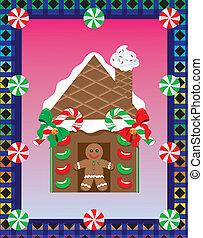 Christmas Gingerbread House 3