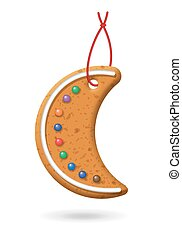 Christmas Gingerbread Icon