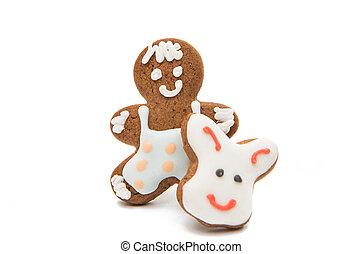 christmas gingerbread man.