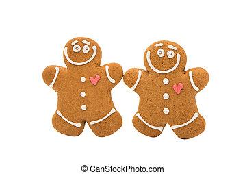 Christmas gingerbread man