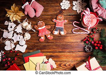Christmas gingermen family