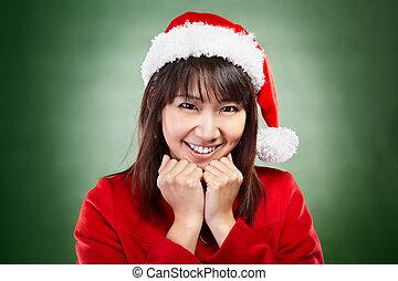 Christmas girl