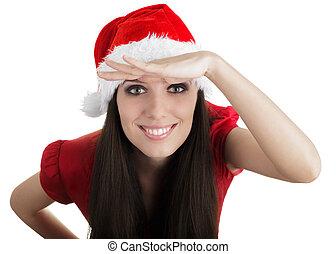 Christmas Girl Scouting