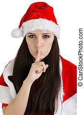 Christmas Girl with a Secret