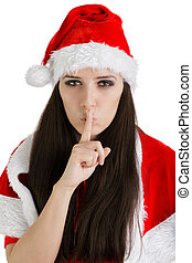 Christmas Girl with a Secret