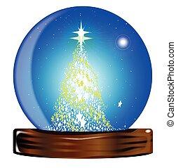 Christmas Globe Tree