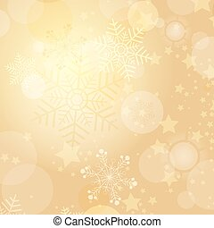 Christmas gold frame