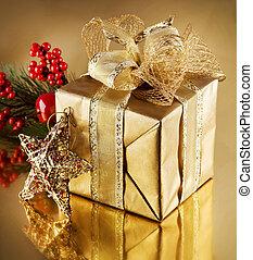 Christmas Golden Gift