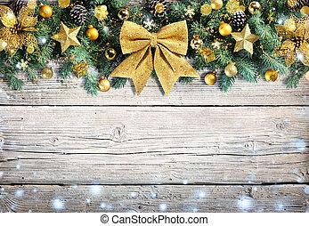 Christmas Golden Ornament