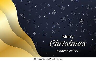 Christmas greeting banner design