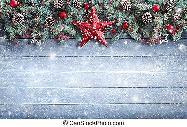 Christmas Greeting Card - Fir