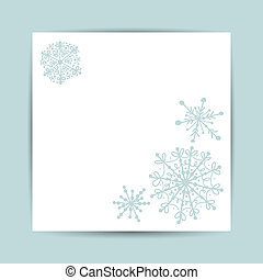 Christmas greeting card for your design