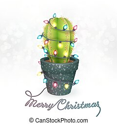 Christmas Cactus Clipart.Christmas Cactus Illustrations And Clip Art 387 Christmas