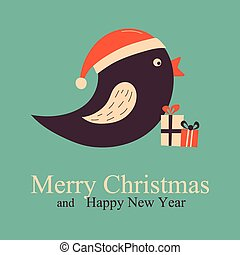 Christmas Greeting & New Year card