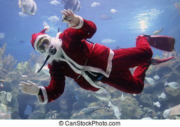 Christmas Greeting - Christmas greeting from Santa Clause...