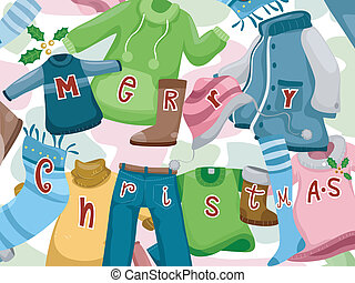 Christmas Greetings Clothes