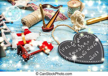 Christmas greetings, Spanish Language
