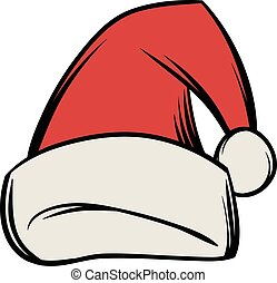 Christmas hat icon cartoon