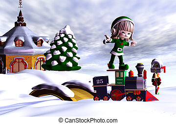 Christmas Express - Christmas helper goes with the Christmas...