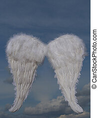 christmas holiday angel wings