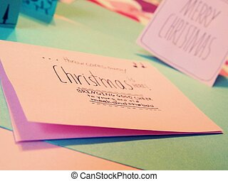 Christmas Holiday Card Making